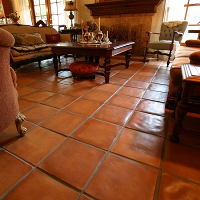 Rustic Spanish Paver Tiles