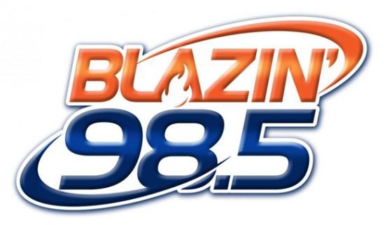 Blazin 98.5 Radio Logo
