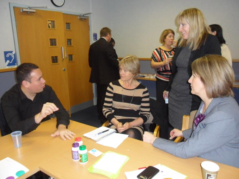 Carrington business park networking success