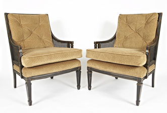 vintage armchairs from Foundry