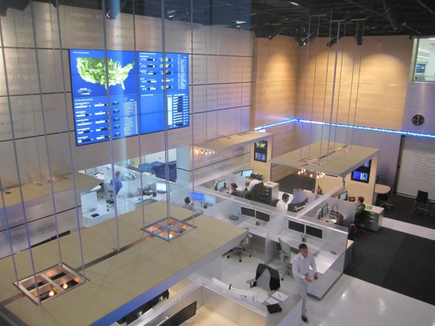 McCann Systems designs the most technologically advanced Command Centers and NOC