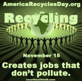 AmericaRecyclesDay.org Creates Jobs