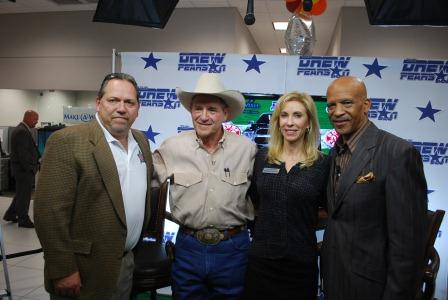 Jim Proctor & Drew Pearson Promoting First New Wish of 2013