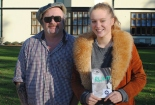 Bedales students learn from acclaimed author Niall Griffiths