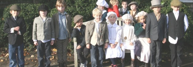 Dunannie Pupils step back in time at Petworth House