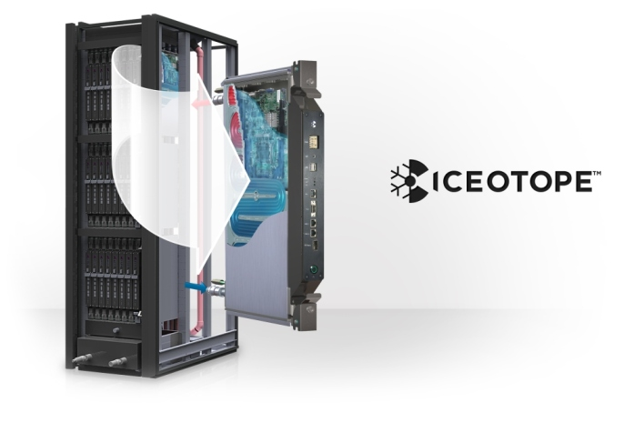 Iceotope Liquid Cooling System For Datacentres