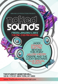 Naked Sounds WBAI Fundraising Event
