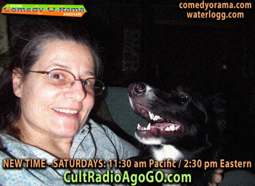 New Comedy-O-Rama Saturday November 17 2:30 pm at cultradioagogo.com