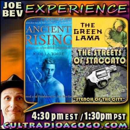 Radio Drama on The Joe Bev Experience, Sat Nov 17, 4:30 pm ET on cultradioagogo