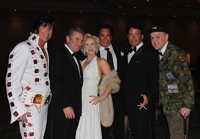 A Full Cast of Characters With Wayne Newton for the USO