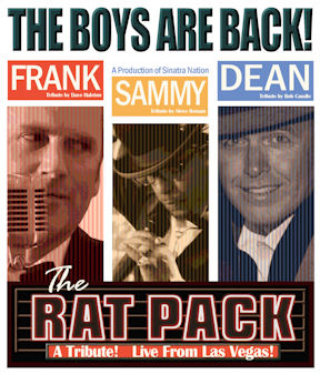 Rat Pack Show Poster