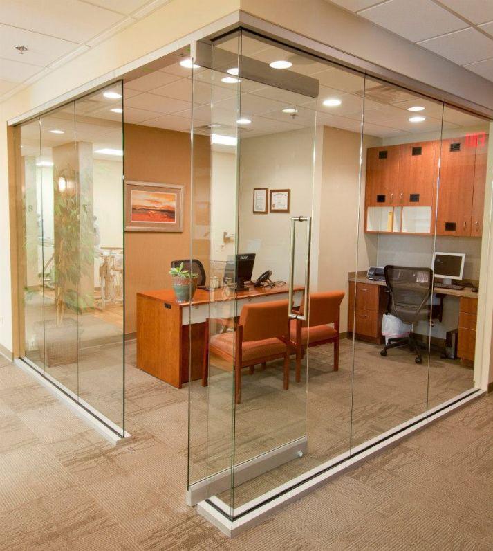 The renovated Flossmoor dental office