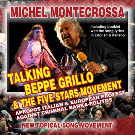 Talking Beppe Grillo & The Five Stars Movement - Michel Montecrossa Single