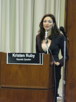 Ruby Media Group Kris Ruby Keynotes Economic Forum