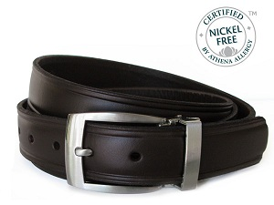 Morrow Mountain Brown Nickel Free Belt