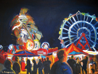 Fair Night, Leslie Anderson