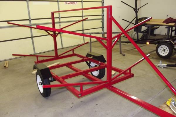 Kayak Trailer by Indian Head Trailers