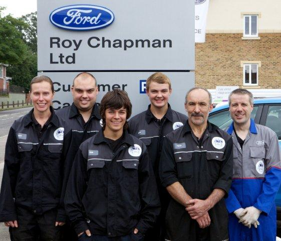 Roy Chapman Ltd Technicians