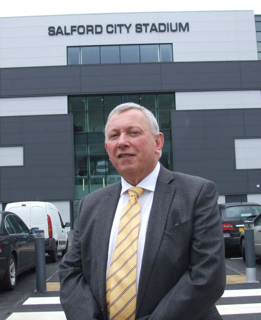 Fred Stone at Salford City Stadium