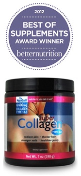NeoCell Super Collagen Powder has been named a Best of Supplements Award Winner