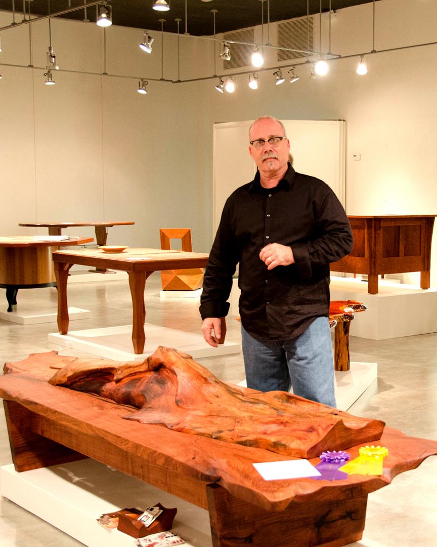 Lou Quallenberg s Sculptural Mesquite Table WINS Best