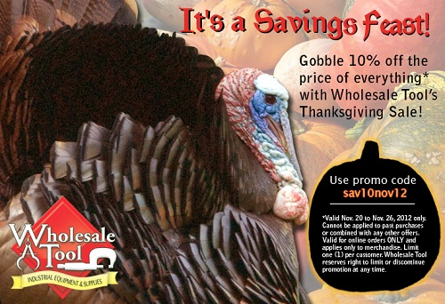 wholesale tool nov promo
