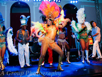 Queen of Samba 2012 contest (Photo by Tim Williams/A Group Photography)