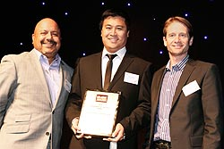 Industrial Recruitment Partners is presented the Enterprise of the Year Award