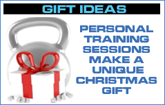 Personal Training Christmas gift