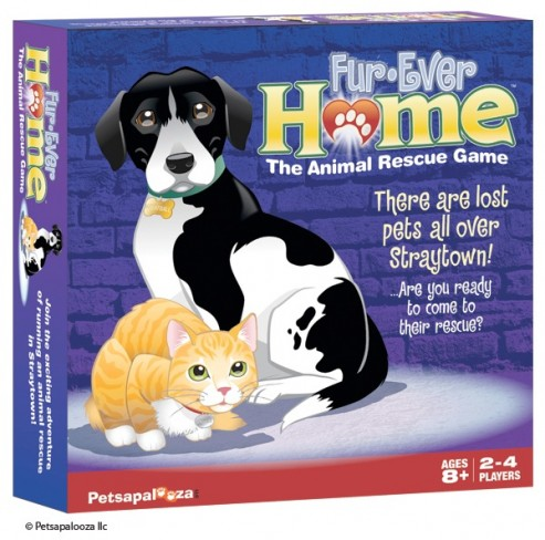 Fur-Ever Home, The Animal Rescue Board Game
