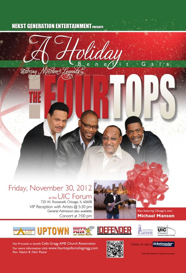 The Four Tops Benefit Gala