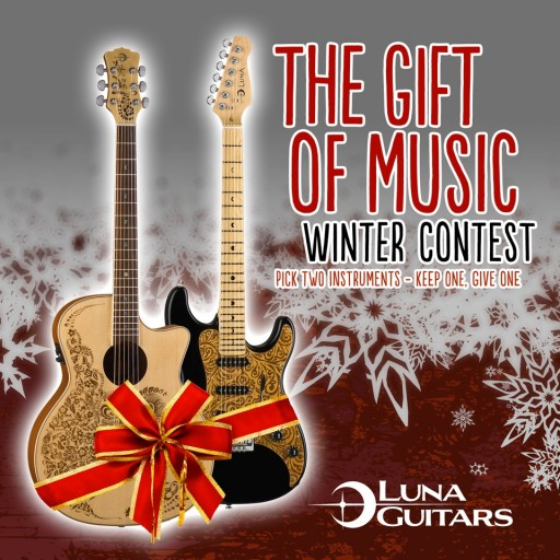 luna guitar contest