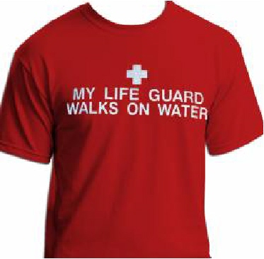 My Life Guard Walks On Water!