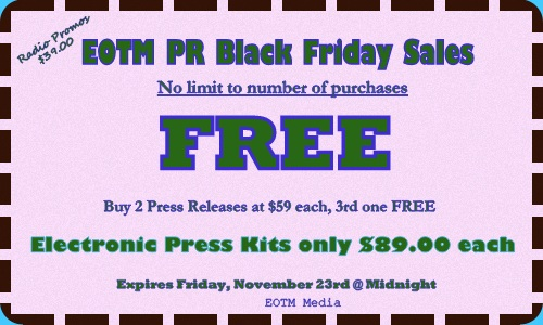 EOTM PR Black Friday Coupon
