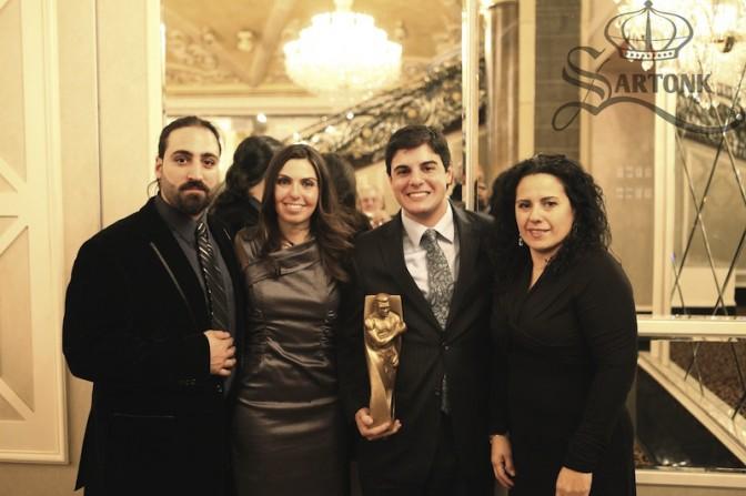 L to R: Edward S. Majian, Hasmig Tatiossian, Joseph Rinaldi, Jeanette Salazar