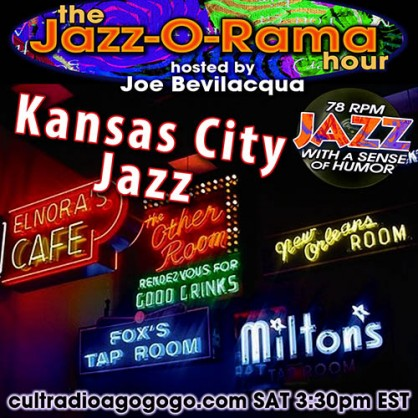 Kansas City Jazz 78s Sat Nov. 24 3:30 pm - listen for free at cultradioagogo.com
