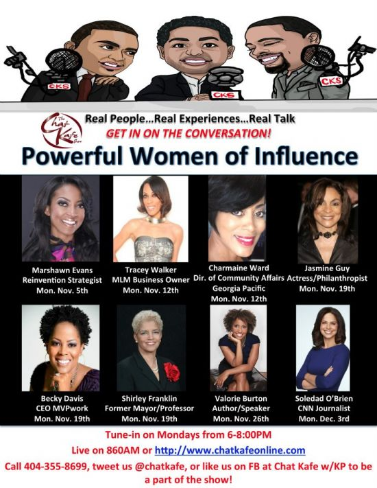 Chat Kafe Show Presents Powerful Women of Influence