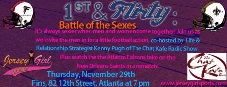 1st and Flirty Battle of the Sexes