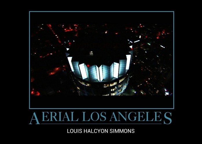Aerial Los Angeles Poster.