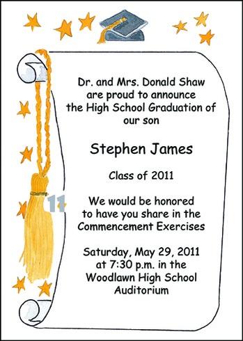 memorable graduation invitations for graduating students www
