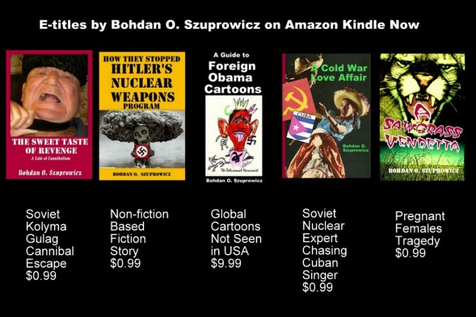 Authors E-titles on Kindle now with more coming soon