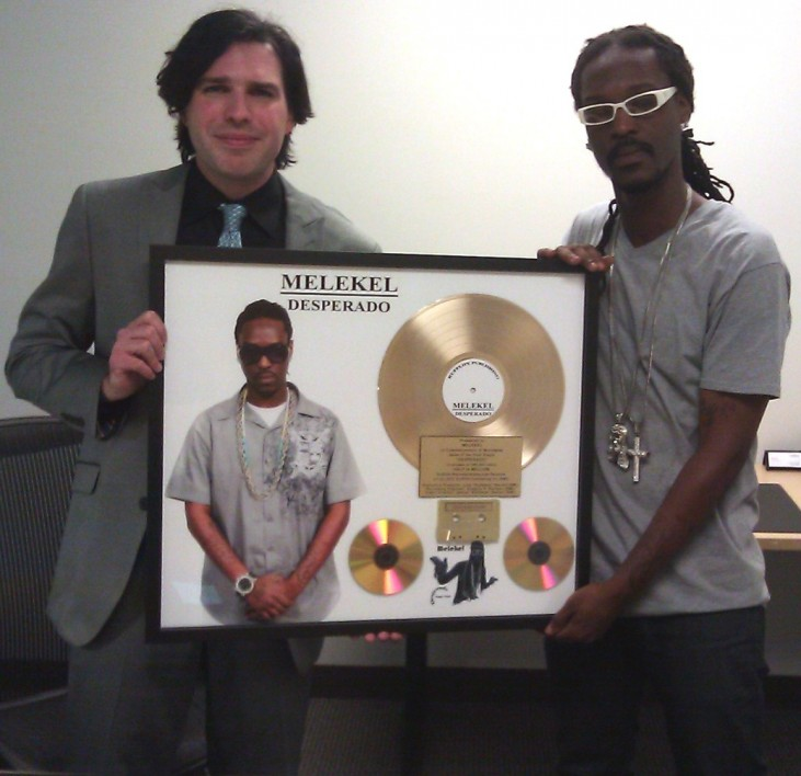 Melekel Gold Record