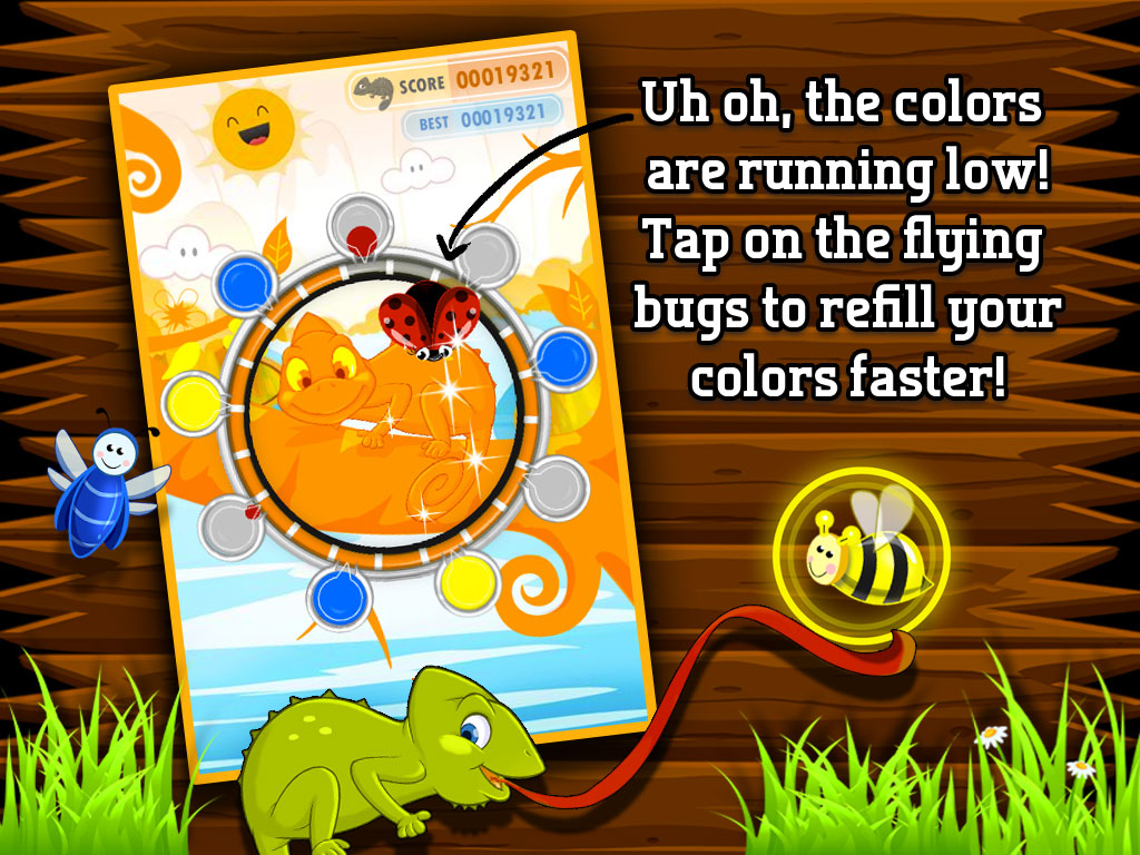 Color Chameleon game play