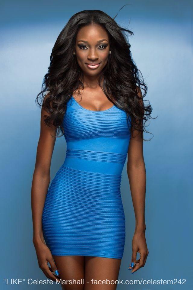 Miss Universe Bahamas Celeste Marshall