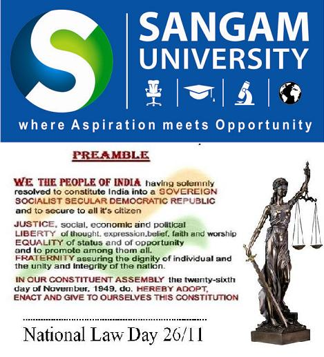 National Law Day 2012 at Sangam University Bhilwara