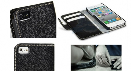 iPhone-5-Real-Leather-White-Stitch-Case