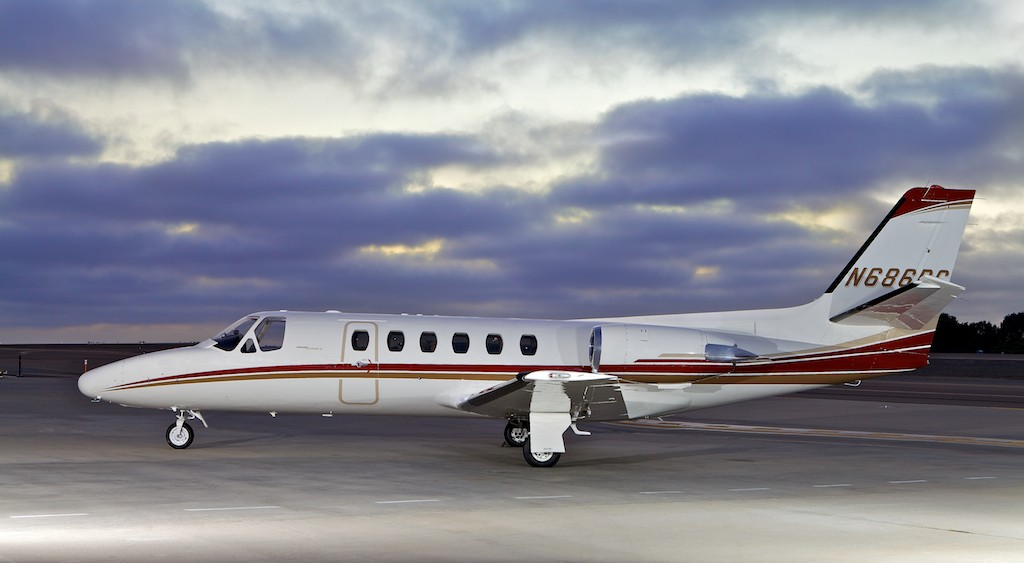 Schubach Aviation's Citation II