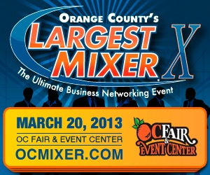 Orange County's Largest Mixer - 2013