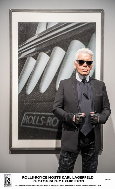 Rolls-Royce Hosts Karl Lagerfeld in Miami Beach