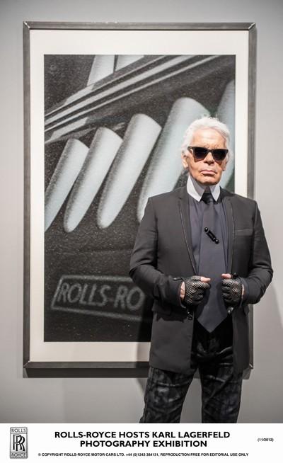 Rolls-Royce Hosts Karl Lagerfeld in Miami Beach